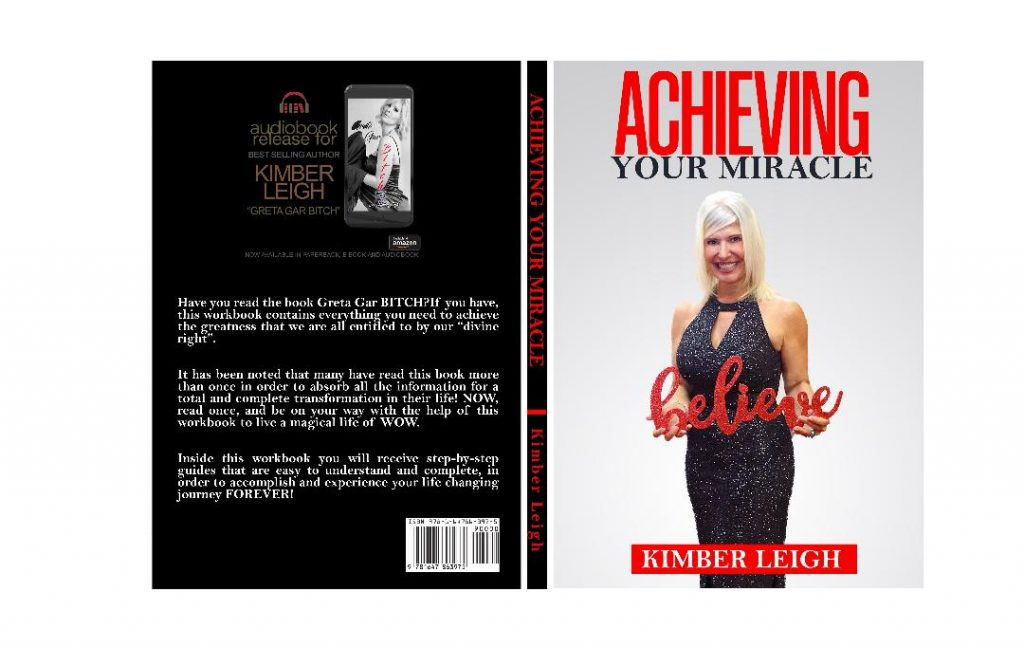 Kimber Leigh new book cover Achieving